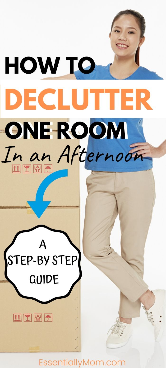 How to Declutter a Room in One Day