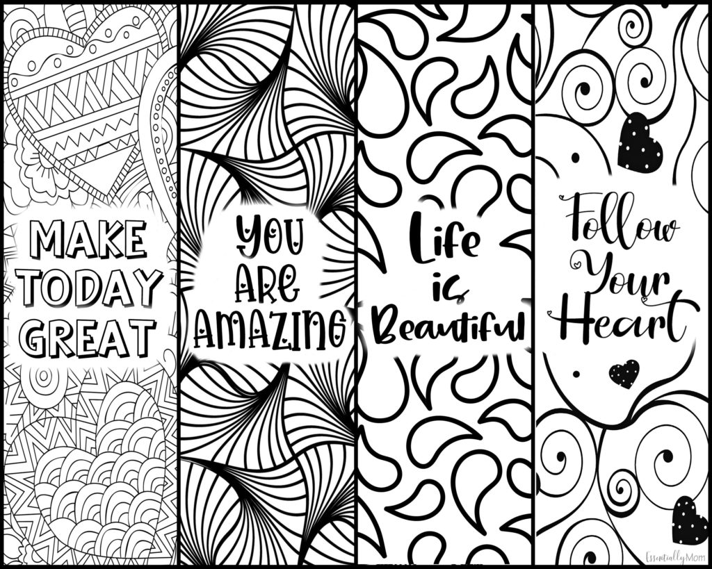 free printable bookmarks color, printable bookmarks quotes, free printable bookmarks with quotes, coloring bookmarks printable,coloring bookmarks print, adult coloring bookmarks
