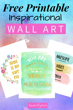 free printable wall art quotes, printable wall art decor, cute printable wall art, inspirational printable wall art