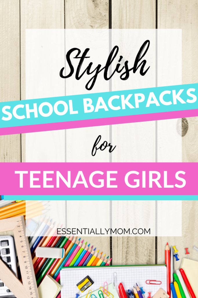 Probably the most important school purchase is a good backpack. But if you're a teen, it can't just be a plain, boring backpack. It needs to be stylish with enough room to carry all those school essentials. Here are 16 cute school backpacks for teenage girls that will keep her organized in style all year long!