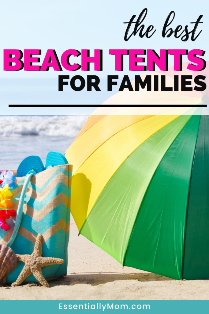 It's beach time again! These 10 family beach tents provide protection from the sun and make your day at the beach an enjoyable one!