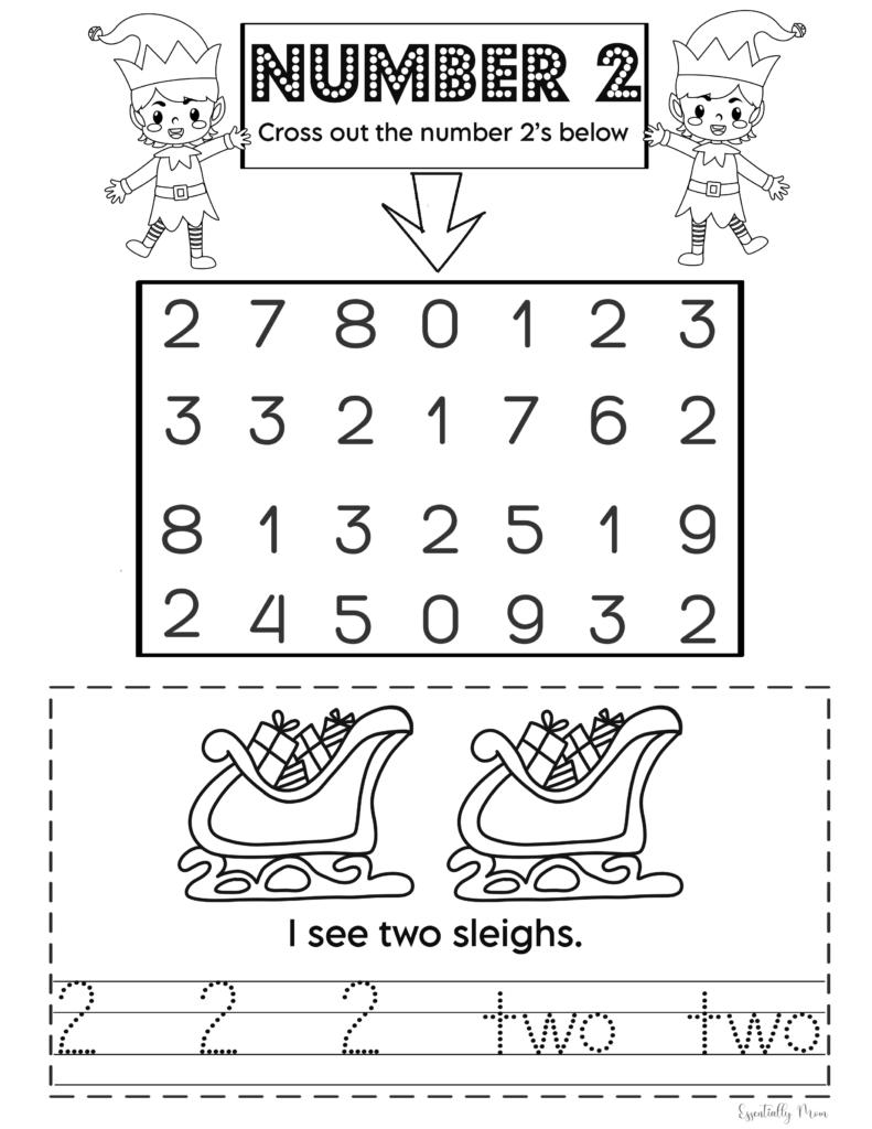 Christmas Math Printables for Preschoolers,pre k number worksheets printable,free printable math worksheets pre k, preschool number worksheets,number tracing printable preschool, number tracing printable pre k